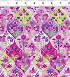 Ajisai Floral Tile Purple