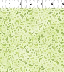 Ajisai Light Green Tonal Swirl
