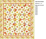 Ajisai Orange Quilt Kit