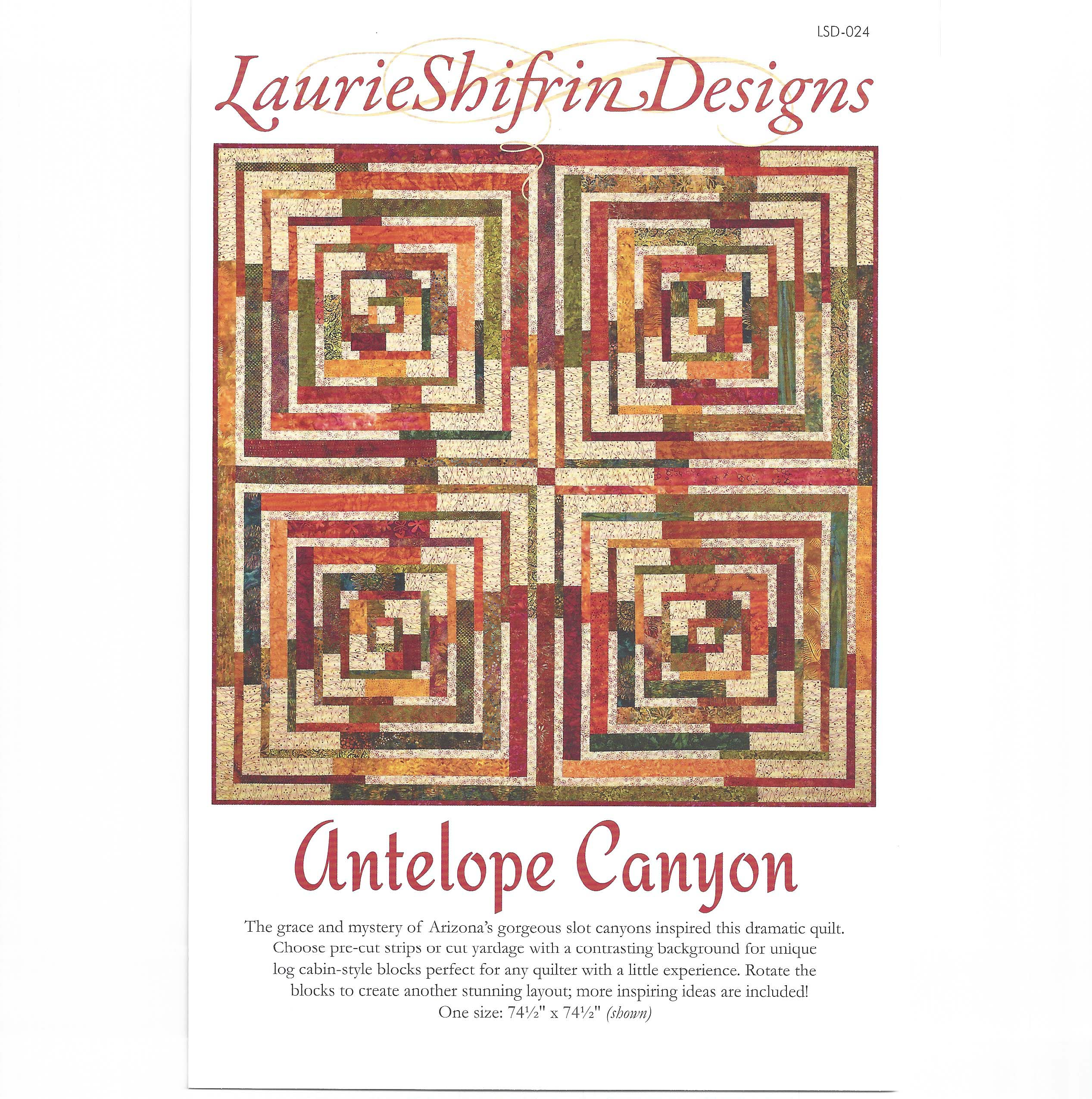 Antelope Quilters Antelope Canyon Quilt ...