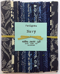 Navy Fat Eighths Bundle