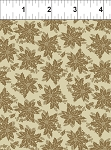 Winter Twist Tonal Floral Tan