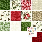 Winter Twist Fat Quarter Bundle