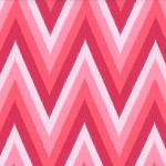 Color Me Happy Ikat Chevron Pink