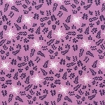 House of Hoppington Calico Toss Wisteria