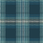 Wafting Plaid Marked in Voile from Dare