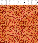 Ajisai Orange Tonal Swirl