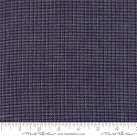 Boro Wovens Small Check Dark Indigo