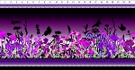 Dreamscapes 2 Purple Border Stripe