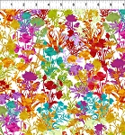 Dreamscapes 2 White Multi Floral