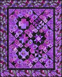 Dreamscapes 2 Butterfly Sampler Quilt Kit Purple