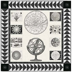 Galactica Quilt Kit featuring Encyclopedia Historica