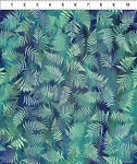 Garden of Dreams Ferns Dusky Teal