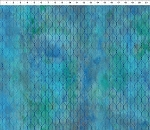 Garden of Dreams Ogee Leaf Blue/Teal
