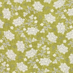 Garden Project Vintage Floral Green Apple