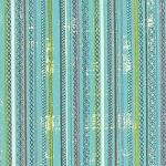 Garden Project Stitched Stripes Sky