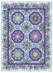 Haven Kaleidoscope Purple Quilt Kit