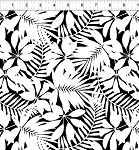 Just for Fun! Black/White Leaves