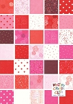 Just Red Fat Quarter Bundle