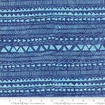 Longitude Batik Stripes Royal Blue