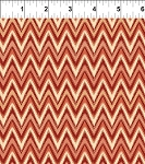 Mini Ikats Rust Zigzag