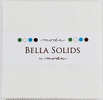 Bella Solid White Charm Pack