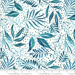 Moody Bloom Teal Breezy Botanical