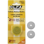 Olfa 28mm Rotary Blade Replacement 2ct