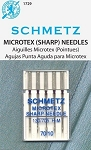 Schmetz Microtex Machine Needles 70/10
