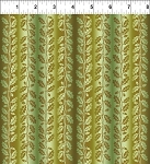 Our Autumn Friends Olive Vine Stripe