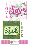 Love & Luck Holiday Mini Quilts Pattern