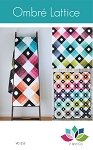 Ombre Lattice Quilt Pattern