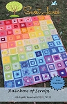 Rainbow of Scraps Quilt Pattern