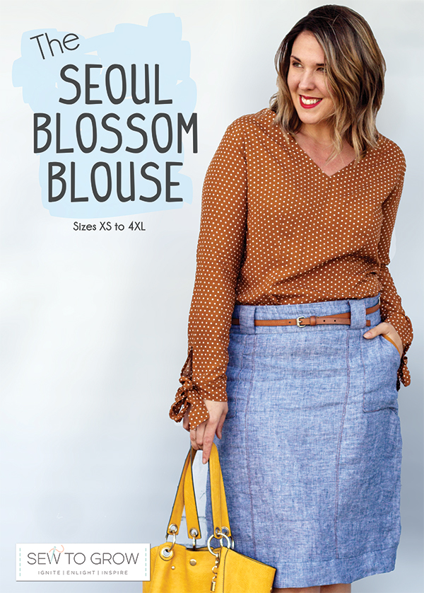 The Seoul Blossom Blouse Pattern