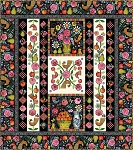 Plenty Broderie Perse Applique Quilt Kit