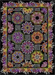 Rainbow of Jewels Kaleidoscope Quilt Pattern