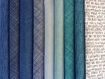 Blue Texture Fat Quarter Bundle