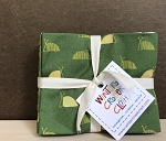 Remix Fat Quarter Bundle GREEN 12