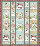 Menagerie Quilt Kit featuring Snow Fun