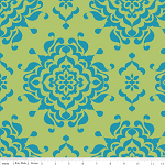 Splendor Damask Green