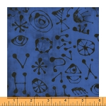 The Blue One Miro Glyphs Baker Blue