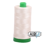 Aurifil Light Beige Cotton 40wt Thread