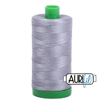 Aurifil Grey Cotton 40wt Thread