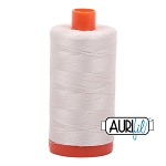 Aurifil Silver White Cotton 50wt Thread