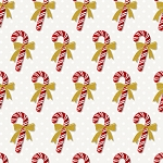 Winter Elegance Pearl Candy Cane