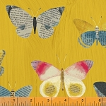 Wonder Newspaper Butterflies Mustard