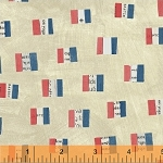 Wonder French Flags Sand