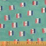 Wonder French Flags Aqua