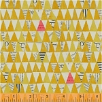 Wonder Stacked Triangles Mustard
