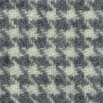Wool Fat Quarter Ecru Houndstooth